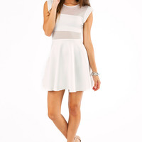 Censored Skater Dress $48