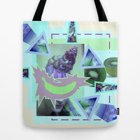 tropical banana Tote Bag by austeja saffron