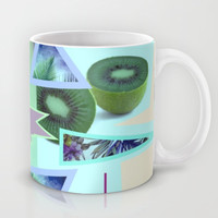 tropical banana Mug by austeja saffron