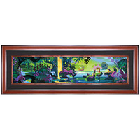 Limited Edition Disney Fine Art Pop! ''Magic Lagoon'' Peter Pan Giclée on Canvas