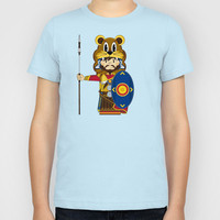 Roman Soldier Kids T-Shirt by markmurphycreative