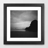 Ecola 2 Framed Art Print by Melissa Lund
