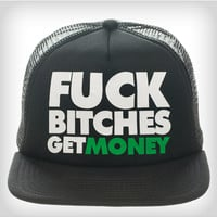 Biggie 'Fuck Bitches Get Money' Trucker Hat