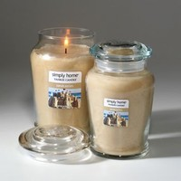 Yankee Candle simply home Sandcastles Jar Candles