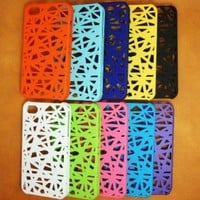 B.W 10 X Bird Nest Rear Snap-on Case for Apple iPhone 5/ 5S