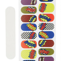 Comic Nail Stickers