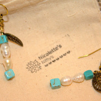 Bohemian Turquoise Earrings