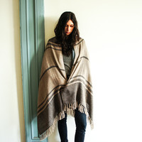 Spartan — Llano Diamond and Stripes Baby Alpaca Scarf