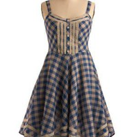 Patio Picnic Dress | Mod Retro Vintage Printed Dresses | ModCloth.com