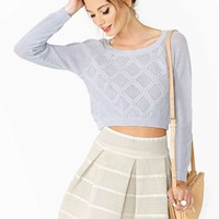 Keira Crop Knit