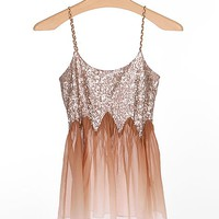 Gimmicks by BKE Sequin Tank Top