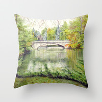 Racine, Fall'13 Throw Pillow by Vargamari