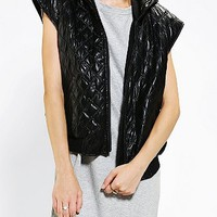 Cameo Friendly Fires Vegan Leather Vest - Urban Outfitters
