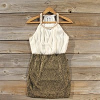 Champagne & Lace Dress