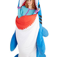 Sea-nic Adventures Sleeping Bag in Shark | Mod Retro Vintage Decor Accessories | ModCloth.com