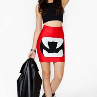 Right Off The Bat Skirt
