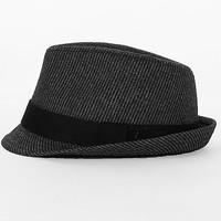 BKE Striped Fedora Hat