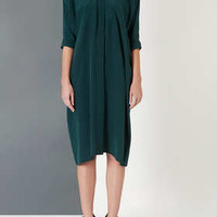 MIDI SILK SHIRT DRESS BY BOUTIQUE
