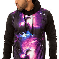 The Teddy Galaxy Hoody in Black