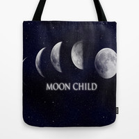 Moon Child Tote Bag by DuckyB (Brandi)