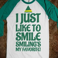 I JUST LIKE TO SMILE SMILING'S MY FAVORITE T-SHIRT