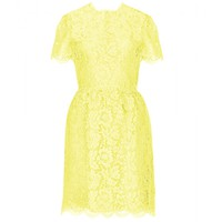 Valentino - COTTON-BLEND LACE DRESS