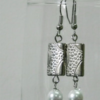 Silver Earrings Dangle Earrings - Long Earrings for Women - Gift for Her Handmade Jewelry
