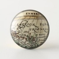 Cartographer&#x27;s Cultured Knob | Anthropologie.eu