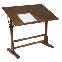 42-inch Vintage Drafting Table