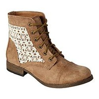 SM New York Women's Fashion Bootie Lovely - Tan
