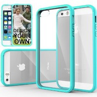 Caseology iPhone 5 Series Transparent Hybrid Bumper Case with Shock Absorbent Protective Bumper and Scratch Resistant Clear Back Cover