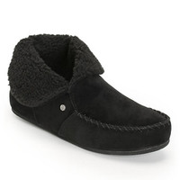 Volcom Girls Good Spirits Black Slippers