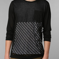 KC By Kill City Laser-Cut Shirt  - Urban Outfitters