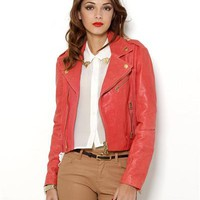 Pierre Balmain Genuine Leather Jacket - Made in Italy - Pierre Balmain - Modnique.com