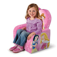 Walmart: Marshmallow Fun Furniture High Back Chair, Disney Princess