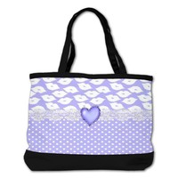 Fanciful Lips Shoulder Bag