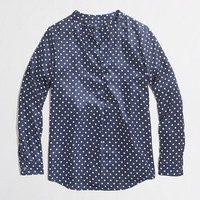 Factory printed draped popover
