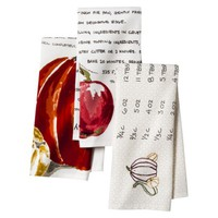Threshold™ Apple Pumpkin Recipe Kitchen Textile Set of 3