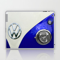 VW Split Screen Navy Laptop & iPad Skin by Alice Gosling