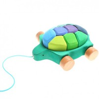Aldea Baby | Pull and Build Turtle