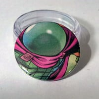 Comic Book 1.5 Button// Mysterio