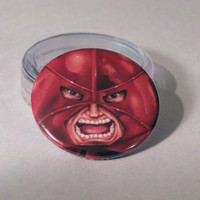 Comic Book 1.5 Button// Juggernaut