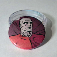 Comic Book 1.5 Button// Metamorpho