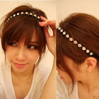 Bling Bling Full Rhinestone Fashion Headband/Bracelet