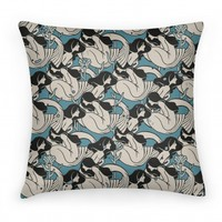Mermaid Pattern Pillow
