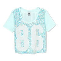 Limited Edition Shrunken Bling Tee - PINK - Victoria's Secret