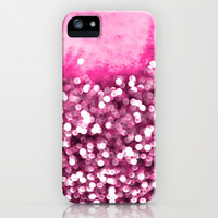 sea of bling - pink iPhone & iPod Case by Iris Lehnhardt