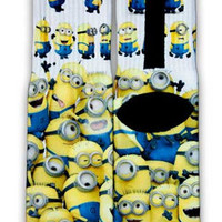 Minions Nike Custom Elite Socks | CustomizeEliteSocks.com™