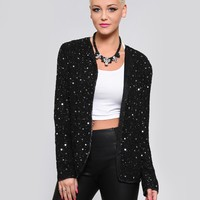 NIKKI SEQUIN JACKET