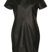 Sacha PU Shift Dress